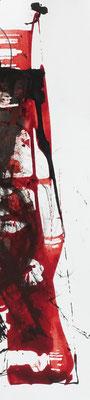 Lesezeichen I Karton + Tusche I 24 x 5,5 cm I Original 25 €