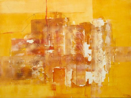 Seelenküssen I 120 x 90 cm I eingefasst in Schattenfugenrahmen aus Holz weißfarben