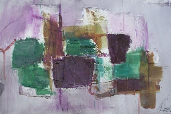 Präsenz I 120 x 90 cm