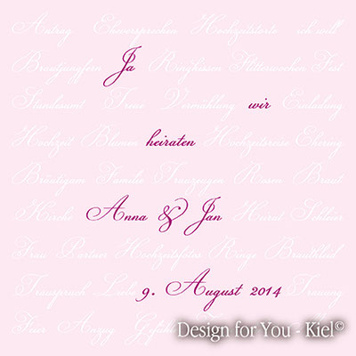 Anna & Jan © Design for You -Kiel