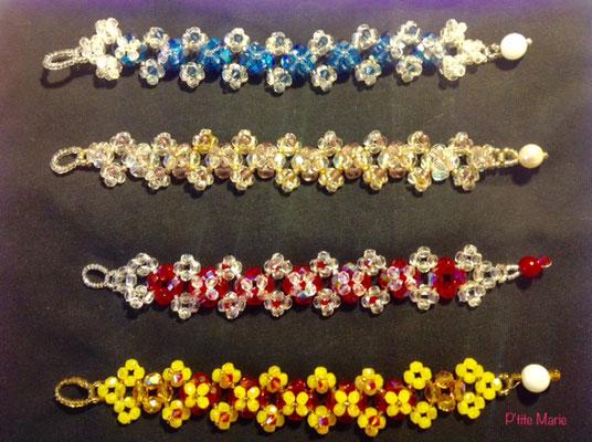 bracelets en cristal de Swarovski / 25€