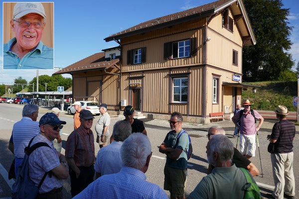 Ossingen:  Wanderleiter Strotz