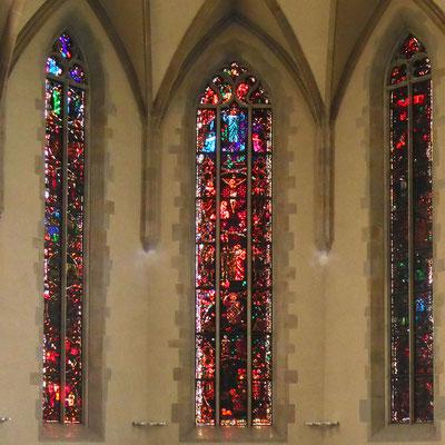 Wasserkirche, Glasmalerei Augusto Giacometti Lebenslauf