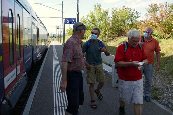 Ossingen:  Presto, Kardan, Falco, Rugel