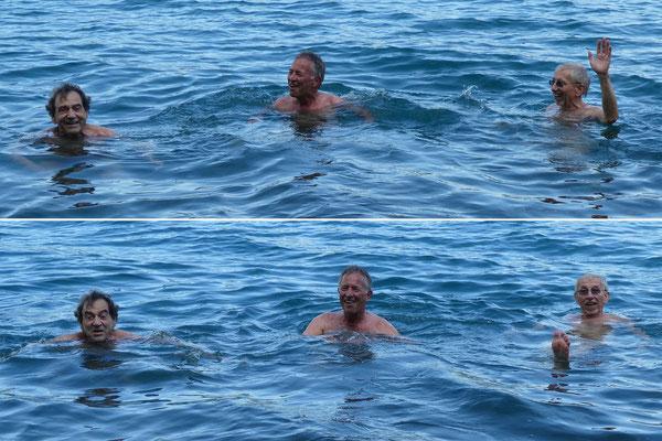 Neptun, Calm und Goliath