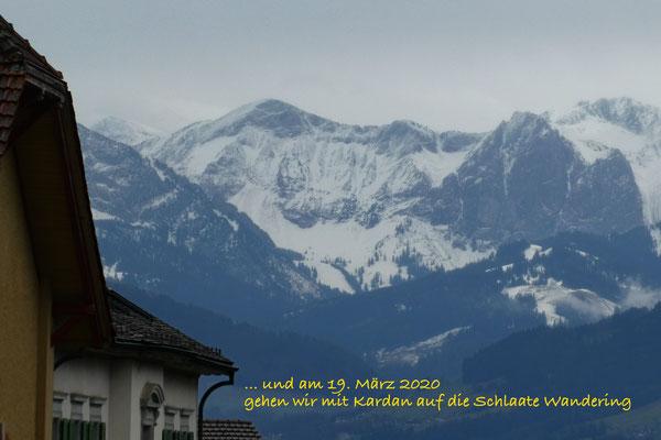 Wäggitaler Berge (nach Chlapf).  +++