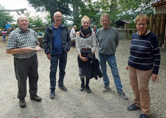 Delta mit Apéroteam - Franz, Tiana, Peter, Anita