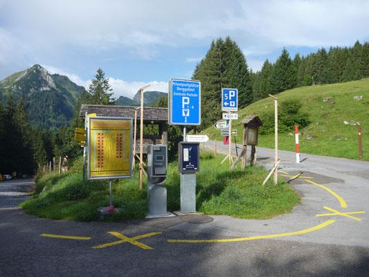 Bewirtschaftete Parkplätze