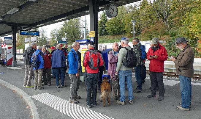 Bahnhof Illnau - Anwesenheitskontrolle