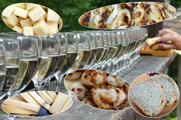 Apéro-Tisch
