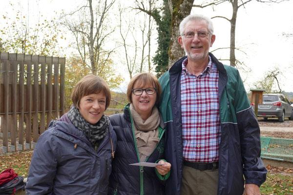 Barbara, Ruth, Pegel