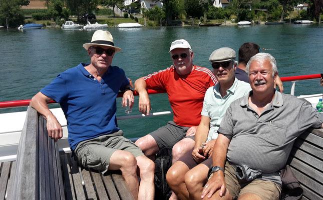 Rheinschifffahrt nach Diessenhofen - Grappa, Rugel, Tito, Zingg