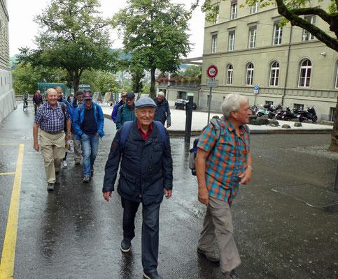 Rund ums Bundeshaus: Patsch, Falco, Delta, Huf, Vento, Wurf