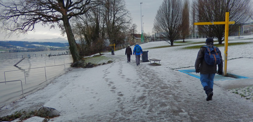 Durchquerung der Badi Beinwil - Tardo, Chlapf, Bison, Patsch