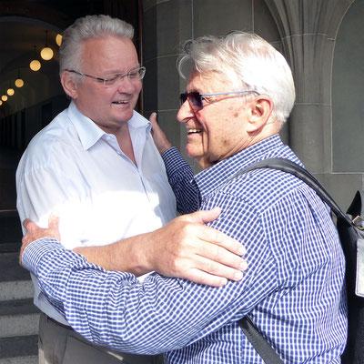 Vater Patsch und Sohn Ueli