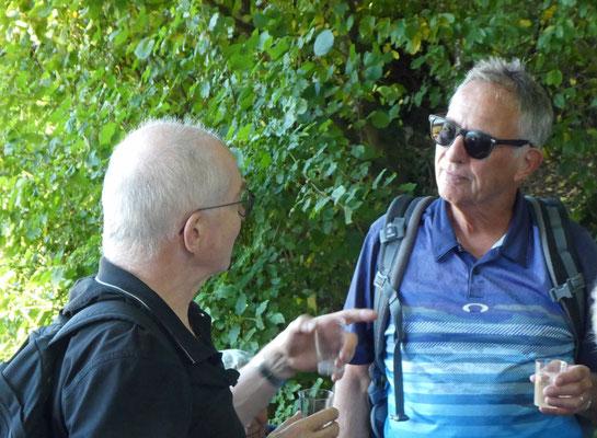 Apéro-Gespräch unter Kollegen:  Callus und Calm