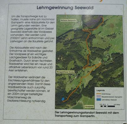 Lehmgewinnung Seewald