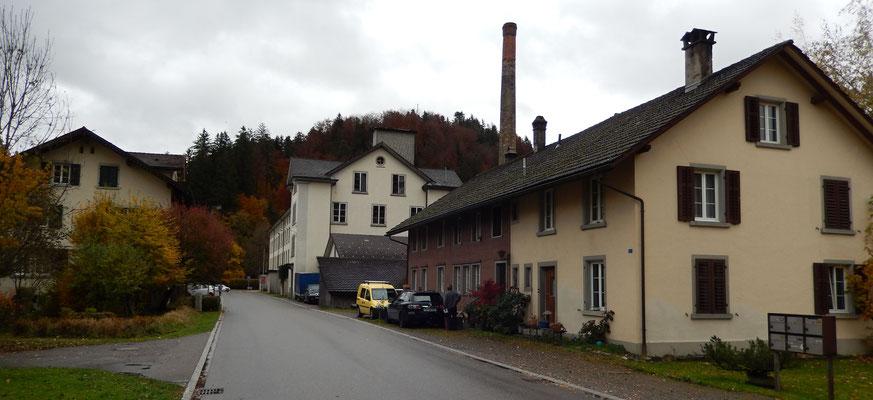 Fabrikanlage bei Juckern