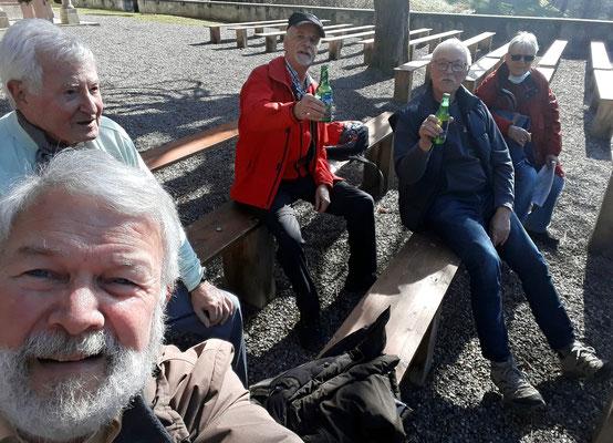 Fotogruss an die Loschenhütten Kleinwanderfreunde