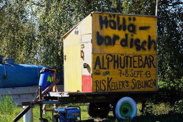 Alphüttebar