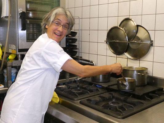 Annegreth Eggenberg, Küchenchefin
