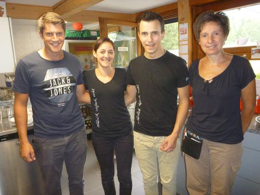 Unsere Gastgeber im Skihaus Gamperfin