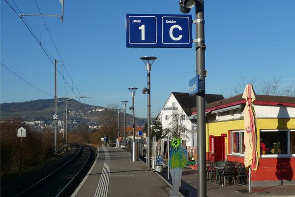 Niederhasli Bahnhof
