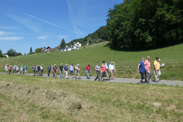 Bergwärts