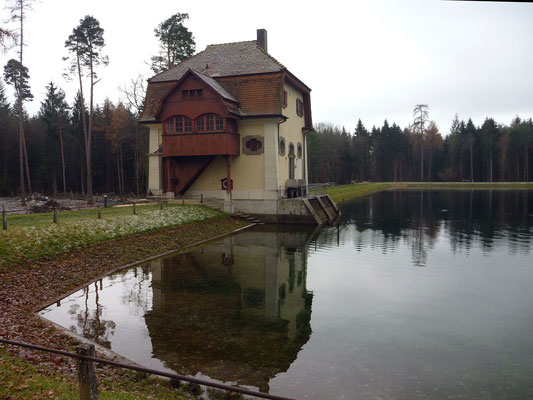 Engeweiher:  Pumpstation