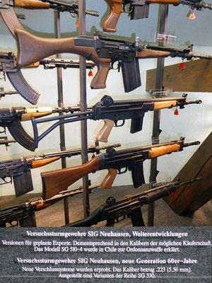 Versuchs-Sturmgewehre SIG