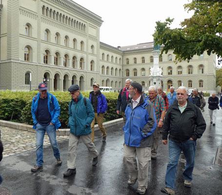 Bundeshaus West: Huf, Vento, Yeti, Zingg