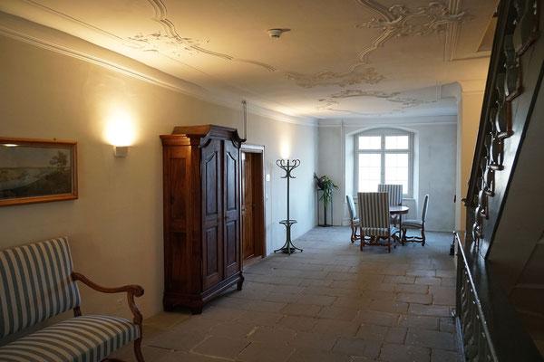 Schloss Freudenfels:  Stukkaturdecke