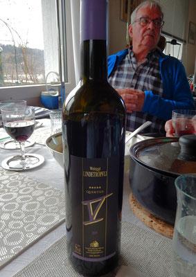 Rotwein zum Mittagessen - Lindetröpfli - Quintus V