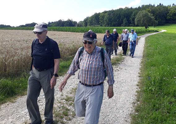 +++  Rückweg vom Buechberghus nach dem Birch:   Vento, Chnopf