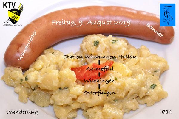 Nächste Wanderung:  Freitag, 9. August mit den Scaphusianern