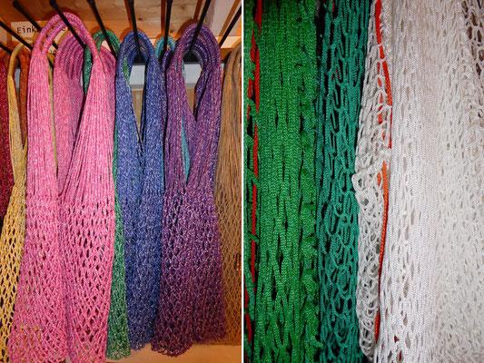 Einkaufs- und Tornetze