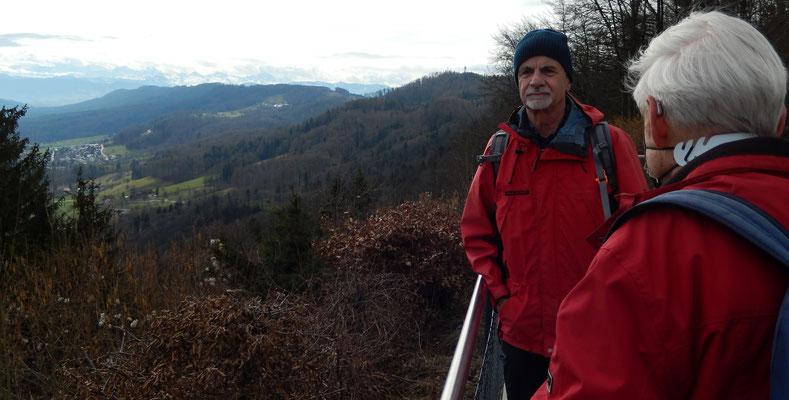 Unser Ausgangspunkt: Die Albis Passhöhe / Chlapf, Patsch