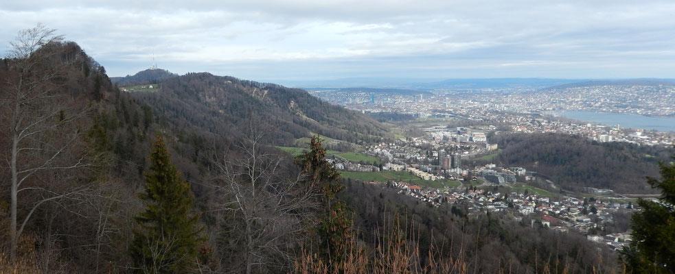 Die Grossstadt Zürich
