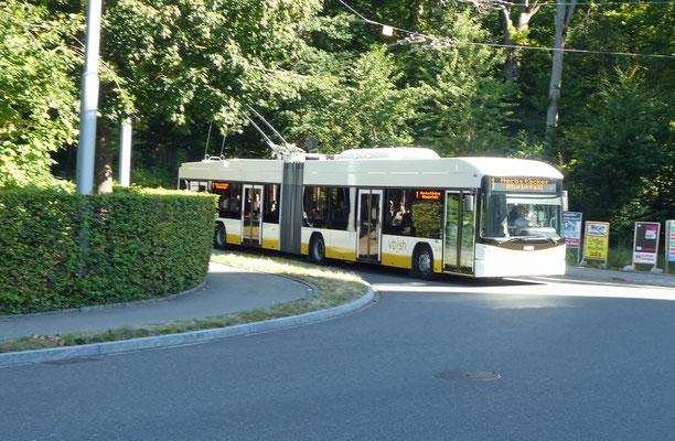 Anfahrt Bus