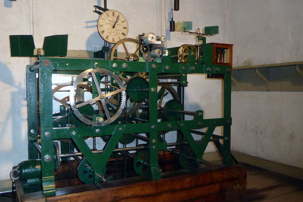 St. Peter, Glockenantrieb