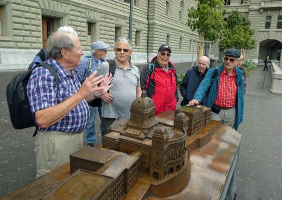 Bundeshausmodell: Delta, Pflueg, Micky, Chnopf, Knirps, Vento