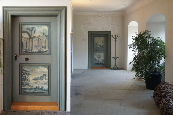 Schloss Freudenfels:  Copypaste Türe