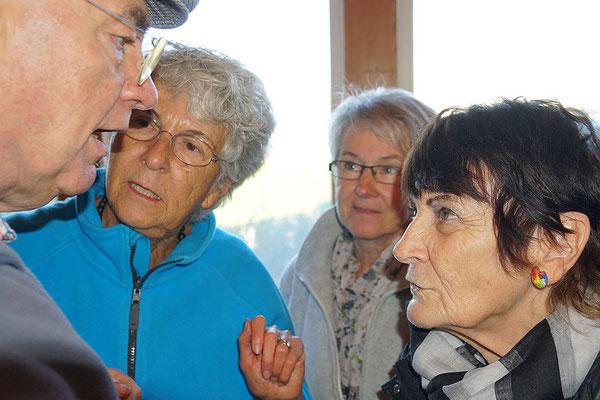 Gun, Esther, Elfi, Susanne