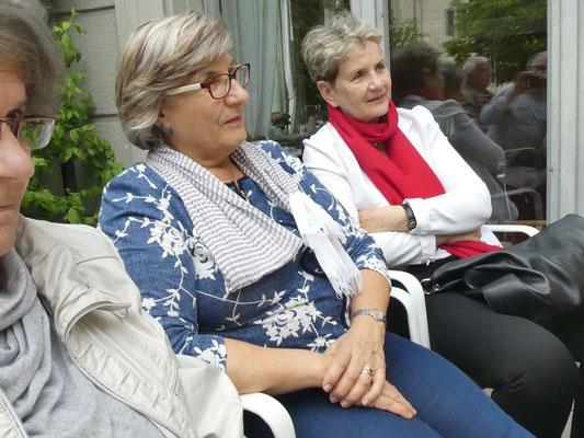 Susi (Micky), Yvonne (Contra), Irène (Dandy)