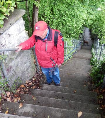 Steiler Aufstieg für Patsch