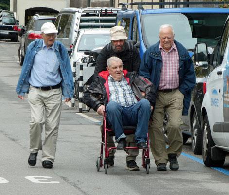 Kurzwanderer im Anmarsch: Ceva, Lux, Balg, Fly