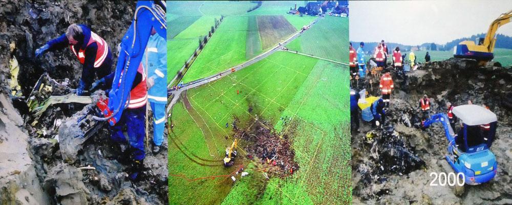 Film: Flugzeugabsturz Nassenwil