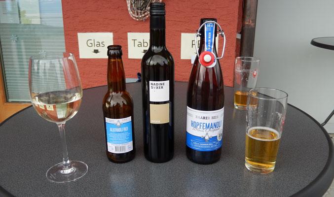 Apérogetränke, Bier ohne, Riesling von Nadine Saxer, Bier mit