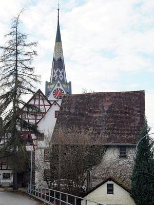 Schleitheim, Kirchturm