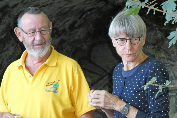 Apéro-Spender Yeti und Martina